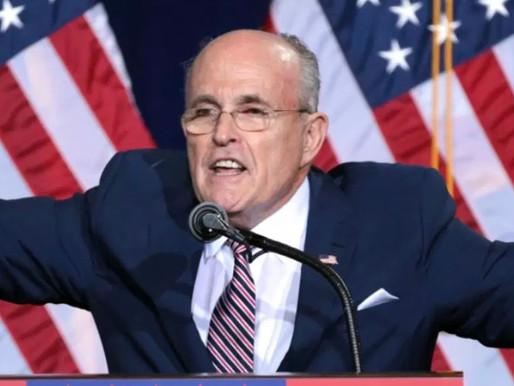Federal Agents Raid Giuliani's Apartment as Part of Ukraine Investigation