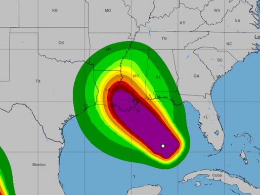 Hurricane Ida Makes Landfall in Louisiana as a CAT4 With 150 MPH Winds