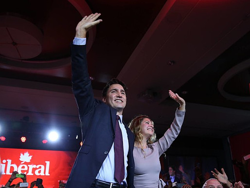 Trudeau's Liberal Party Wins Canadian Election - Doesn't Secure Majority Though