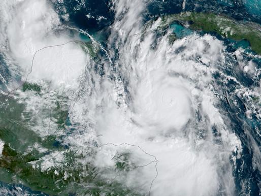 Hurricane Delta Makes Landfall in Louisiana and Texas