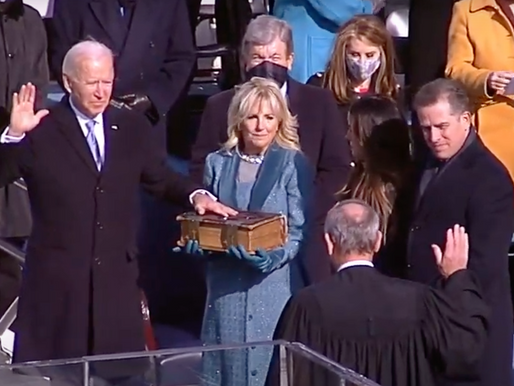Joe Biden is Sworn in as the President of the United States