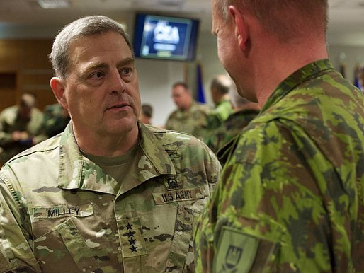 Gen. Milley Defends Calls to China Saying They Were Within Scope of Job