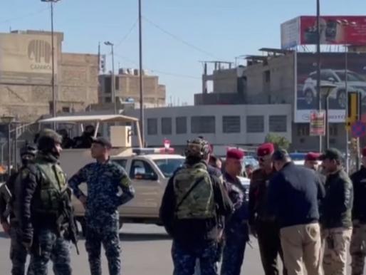 Two Suicide Bombings in Baghdad Result in 28 Dead