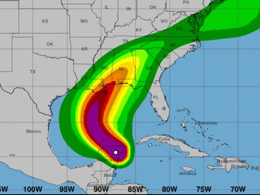 Hurricane Warning in Effect for Louisiana - Zeta Could Hit by Wed.
