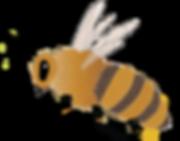honey bee flying.png