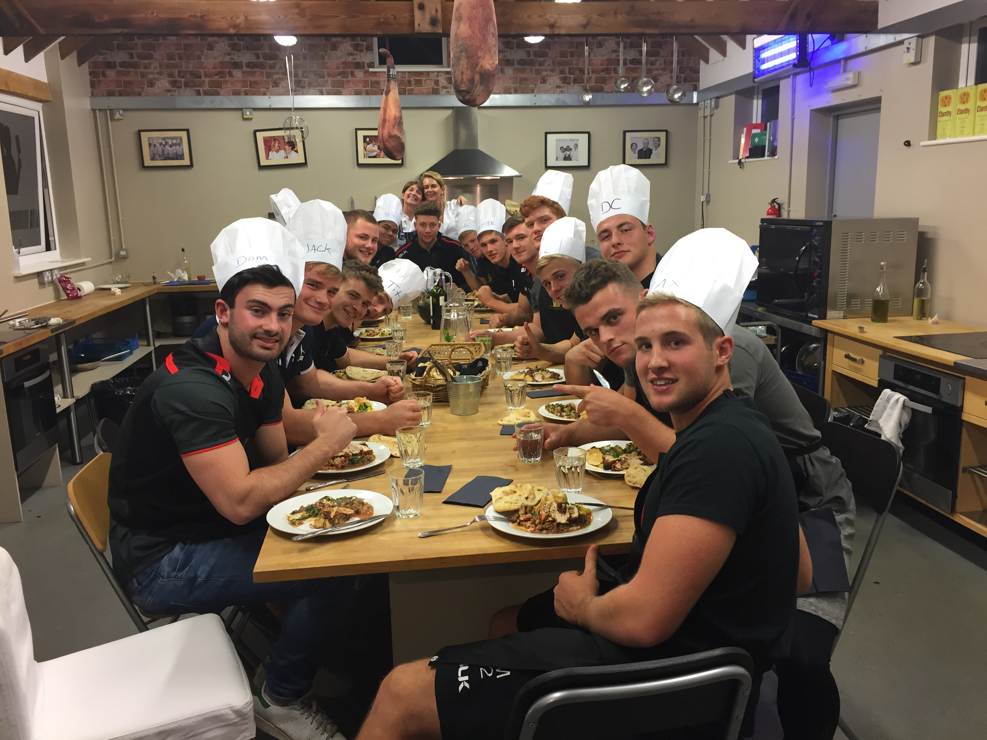 SARACENS AT THE TABLE