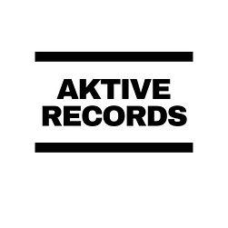 Aktive Records Black On White DMC Logo