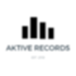 Aktive Records Black Transparent Levels Logo