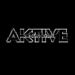 Black Transparent Aktive Records Logo.pn