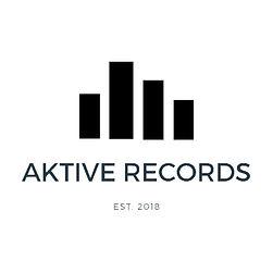 Aktive Records Black On White Levels Logo