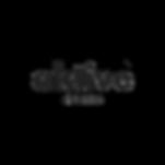 Aktive Records Black On White French Logo