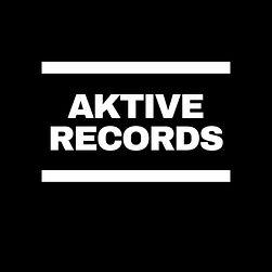 Aktive Records White On Black DMC Logo