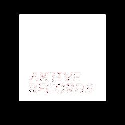 Aktive Records White Transparent Box Logo