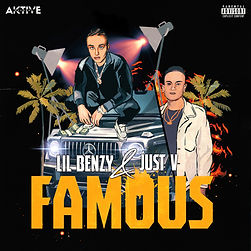 Lil Benzy & Just V Famous Cover Art