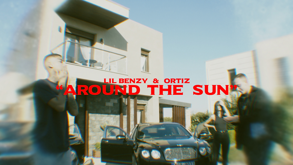 Lil Benzy & Ortiz - Around The Sun (YouTube Thumbnail)