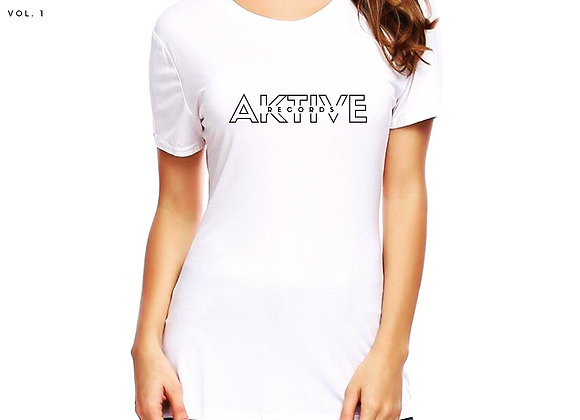 Women's Transparent Logo Tee