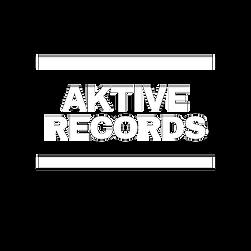 Aktive Records White Transparent DMC Logo