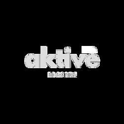Aktive Records White Transparent French Logo