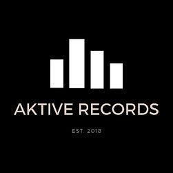 Aktive Records White On Black Levels Logo
