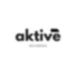 Aktive Records Black Transprent French Logo
