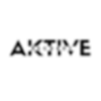 Aktive Records Black Transparent Logo