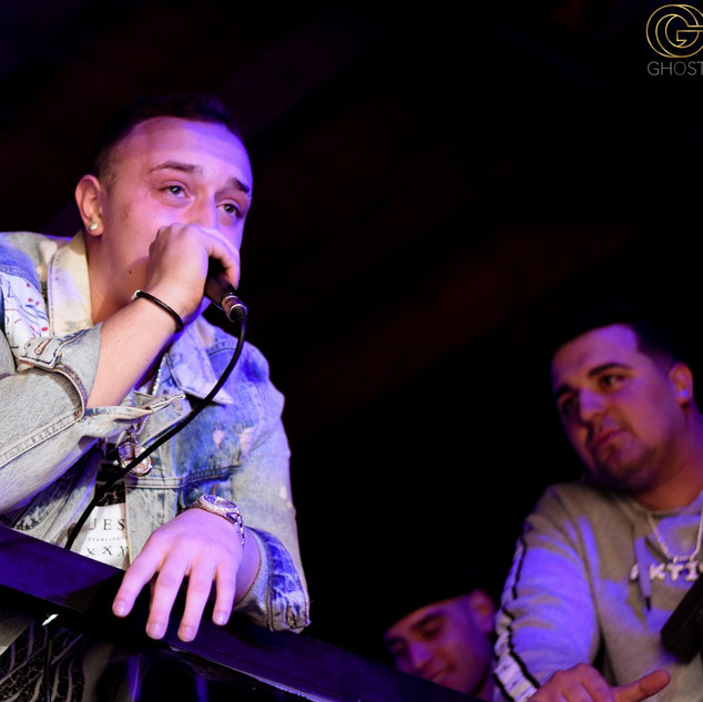 Lil Benzy + Spike Live At Ghost Club In Thessaloniki, Greece