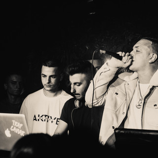 Trap Caviar Presents Lil Benzy At Jangal NightClub In Thessaloniki, Greece