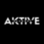 Aktive Records White On Black Logo