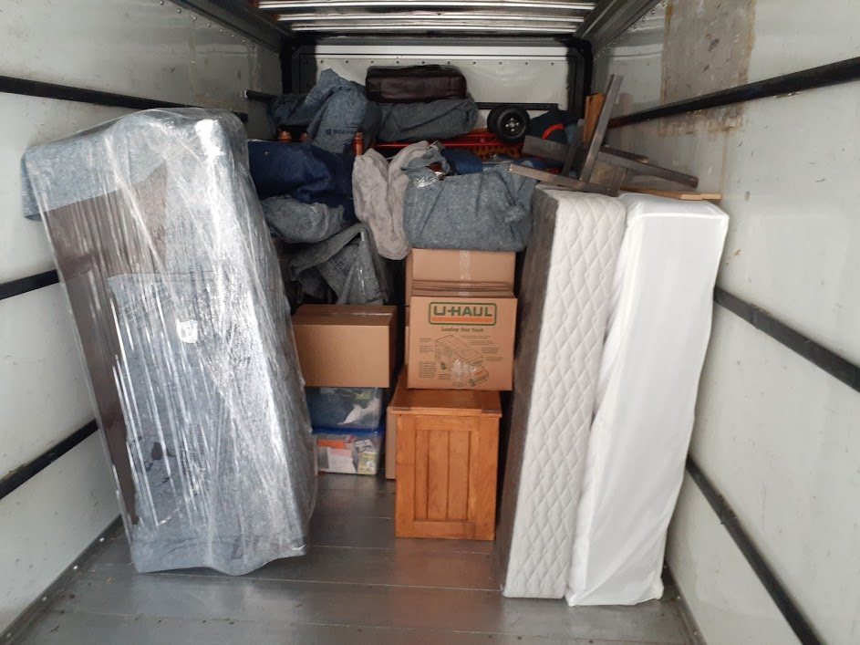 loaded furniture in uhaul.jpg