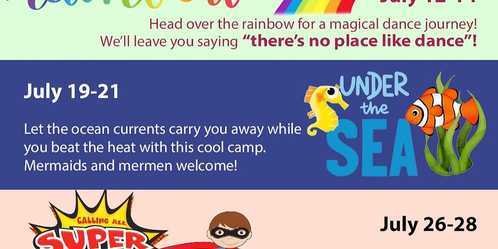 Mini Dance Camp - Over the Rainbow (3 Days)