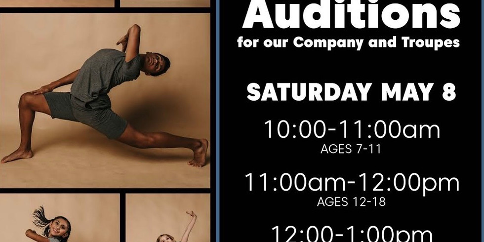 Contemporary, Jazz and Modern Company and Troupe Auditions