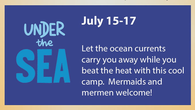 Under the Sea Mini Dance Camp