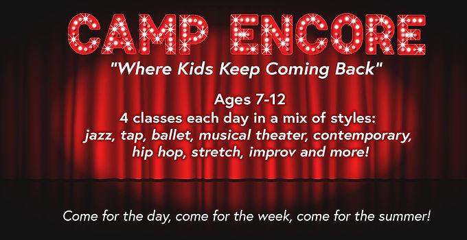 Camp Encore - Week 4