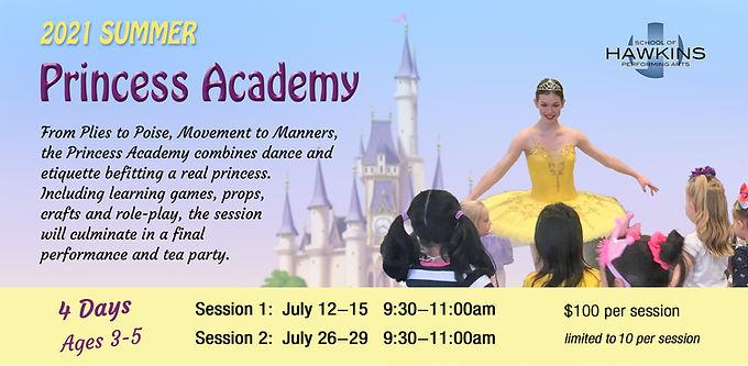 Princess Academy (4 Days)