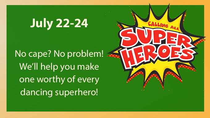 Super Heroes Mini Dance Camp