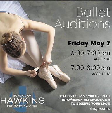 Ballet Company & Troupe Auditions