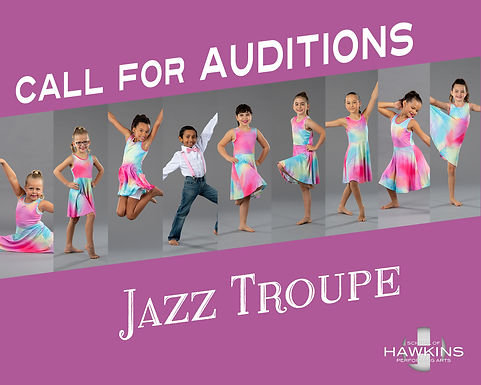 Jazz Troupe Auditions