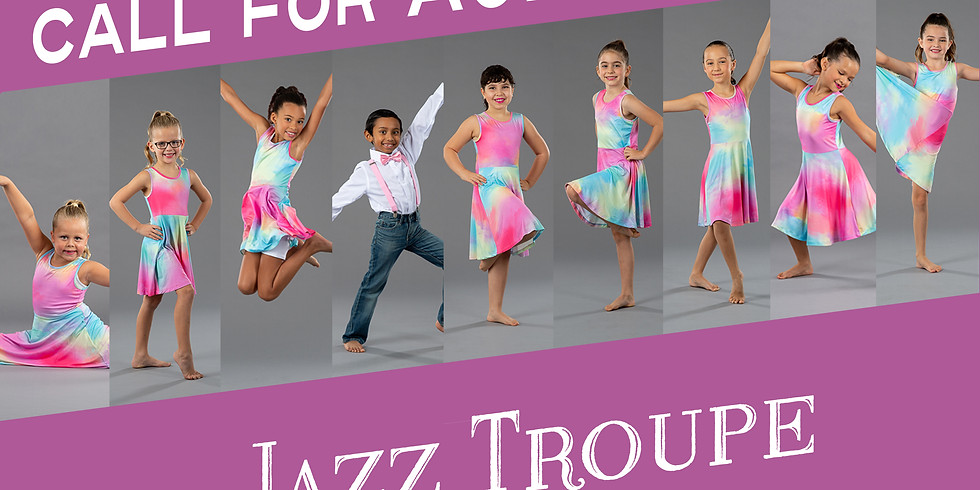 Jazz Troupe & Tap Troupe Auditions
