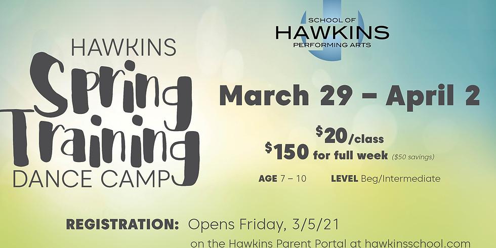 Spring Training Dance Camp