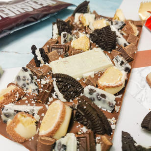 The American One with White Kinder Bueno added