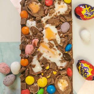 Creme Egg, Mini Eggs & M&Ms
