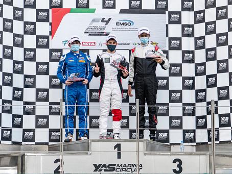 Pepe Martí consigue su primer podio en monoplazas