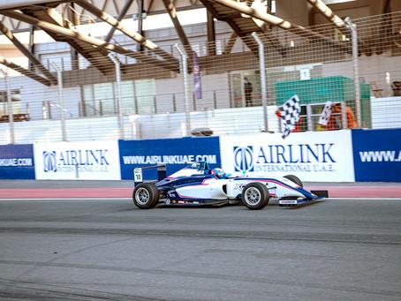 Final de la Fórmula 4 UAE para Pepe Martí en Dubái