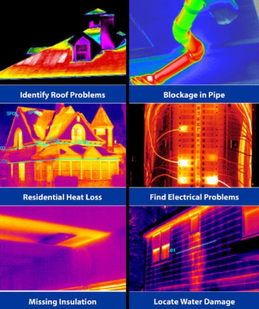 DASET Home Inspections Thermal Imaging