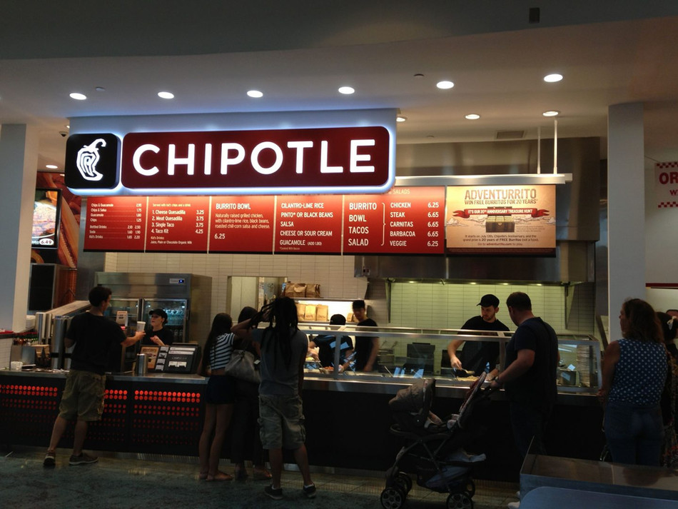 Chipotle is downgraded on fear that its leadership shake-up means earnings may disappoint in the nea