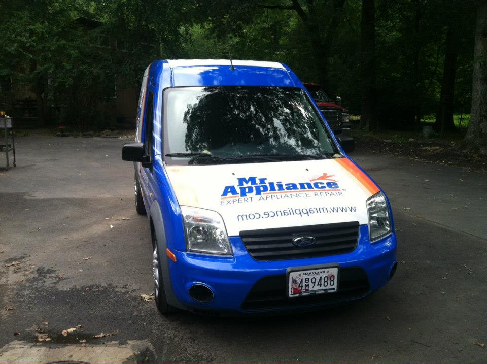 Mr. Appliance full wrap