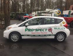Thank you ProSpect for the business! #vehiclegraphics #vehiclelettering #lettering #vinyllettering #
