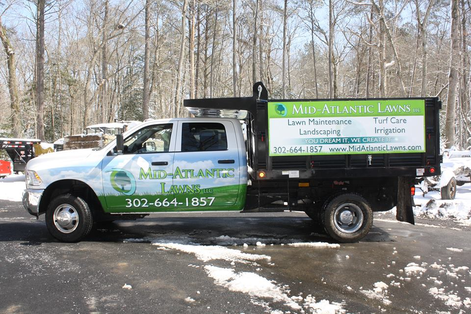 Mid Atlantic Lawns wrap