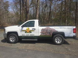 Hunter Creek Homes is growing and so is their fleet. We did a partial wrap on the new truck. Thanks