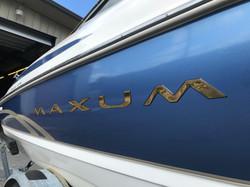 Maxum Boat Wrap